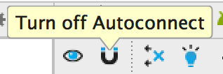 Turn Off Autoconnect